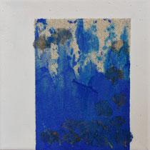 série bleu nature, 20 x 20 cm, 2016, vendu