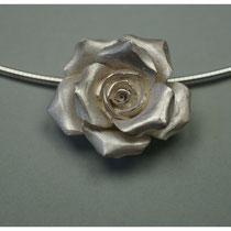 große Rose 925er Silber / 190,-€