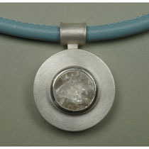 Anhänger 925er Silber mit Bergkristall / 380,-€