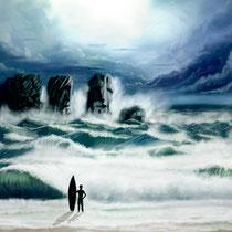 Poseidon I (150x75cm)