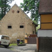 Einfamilienhaus Bürger Umbau - Nordgiebel vorher