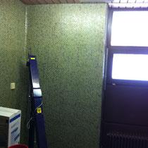 Krankenhaus Herrenberg Physiotherapie - Nebenraum als Abstellraum vor Umbau genutzt