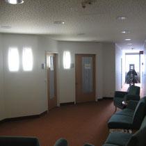 Krankenhaus Nagold Patientenaufnahme Wartebereich nach Neugestaltung