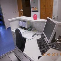 Krankenhaus Herrenberg Physiotherapie - Patienteanmeldung nach Umbau