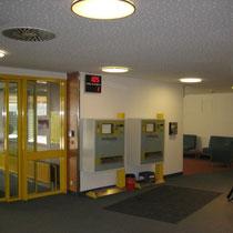 Krankenhaus Nagold Patientenaufnahme Zugang nach Neugestaltung 1
