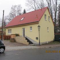 Einfamilienhaus Bürger Umbau - Ostseite nachher