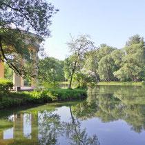 Пруд в парке Екатерингоф