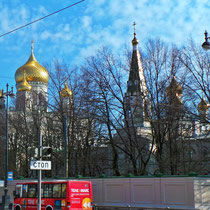 Общий вид Новодевичьего монастыря