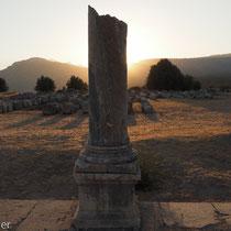 Xanthos: Säule der römischen Agora