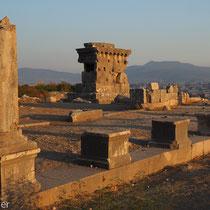 Xanthos: Reste einer römischen Agora