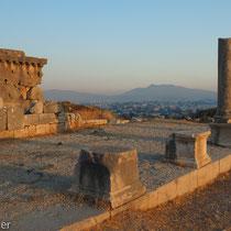 Xanthos: Reste der römischen Agora