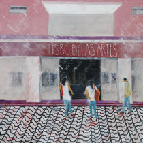 Cine Belas Artes 140 x 140 cm