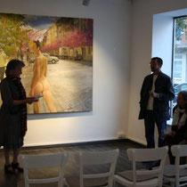 Malerei – Szenen und Eindrücke von Nicolas Curmer, ABC Westside Galerie