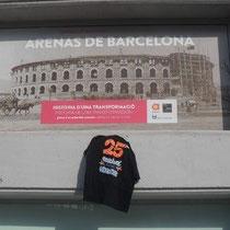 Caroline à Barcelone