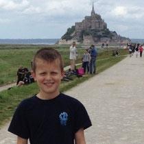 Dorian au marathon du Mont St Michel