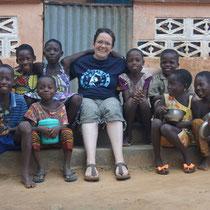 Sophie au Togo