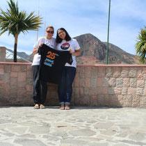 Flavie et Josépha au Chili