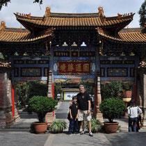 Patrice en Chine