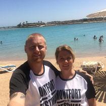 Jérôme et Stéphanie en Egypte