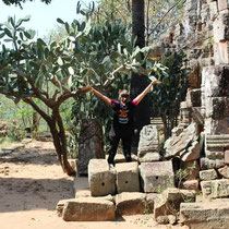 Flavie au Cambodge