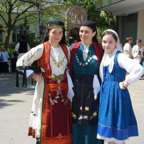 Zagori Epirus (Mutter mit Töchtern)