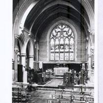 Choir interior