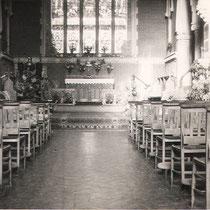 Interior nave