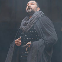 "Ross in ""Macbeth"" Shakespeare's Globe Theatre, London."
