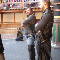 Macbeth Rehearsal. Shakespeare's Globe.