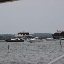 La promenade sur le bassin - L'Île aux oiseaux