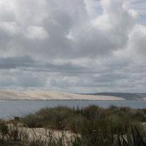 """""""En face"""", la dune du Pyla"""