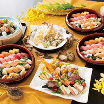 セット料理 栞(しおり)10名様