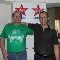 A Virgin Radio avec David Demaret.