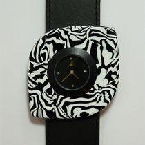 Zebra schwarz-weiß