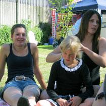 Solveyg, Kira und Jenny