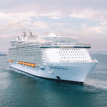 Die Symphony of the Seas verlässt Palma