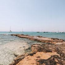Wunderschöne Buchten auf Formentera