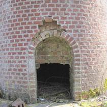 Base de la cheminée