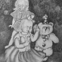 2002, Graphitstifte auf Karton, 42 x 59 cm, (verkauft)