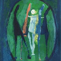 MARINO MARINI, Marino from Shakespeare II, I, Orig. Farbradierung, 1978, P.A., handsigniert