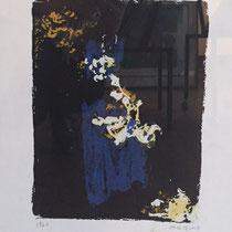 MARINO MARINI, Nr. 56: Elemento prima – Das erste Element, 1960, Replik aus der Werkausgabe Marino Marini 1968, 268/2000