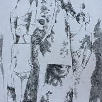 """MARINO MARINI, Rappresentazione, aus: Mappe """"Imagines"""", Propyläenverlag Offset, Wvz 234, 1970, Aufl. 150"""
