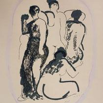 MARINO MARINI, Nr. 38: Il Cammèo – Die Kammee, Replik aus der Werkausgabe Marino Marini 1968, 268/2000