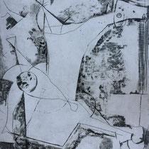"""MARINO MARINI, Allucinazione, aus: Mappe """"Imagines"""", Propyläenverlag Offset, Wvz 227, 1970, Aufl. 150"""