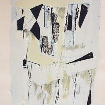 MARINO MARINI, Nr. 62: Quadriglia – Quadrille, 1962, Replik aus der Werkausgabe Marino Marini 1968, 268/2000