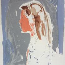 MARINO MARINI, Nr. 61: Laorraine, 1962, Replik aus der Werkausgabe Marino Marini 1968, 268/2000