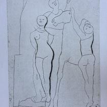 "MARINO MARINI, Il Teatro, aus: Mappe ""Imagines"", Propyläenverlag Offset, Wvz 229, 1970, Aufl. 150"