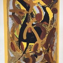 MARINO MARINI, Nr. 50: Scomposizione - Zerlegung, Replik aus der Werkausgabe Marino Marini 1968, 268/2000