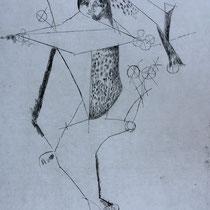 "MARINO MARINI, Miracolo, aus: Mappe ""Imagines"", Propyläenverlag Offset, Wvz 232, 1970, Aufl. 150"
