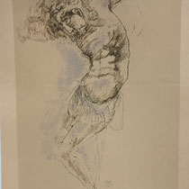 MARINO MARINI, Nr. 13: Christo – Christus, 1941, Replik aus der Werkausgabe Marino Marini 1968, 268/2000